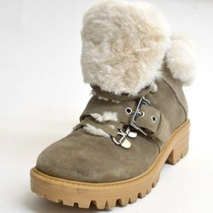 Kendall + Kylie Edison Suede Ankle Hiker Boots